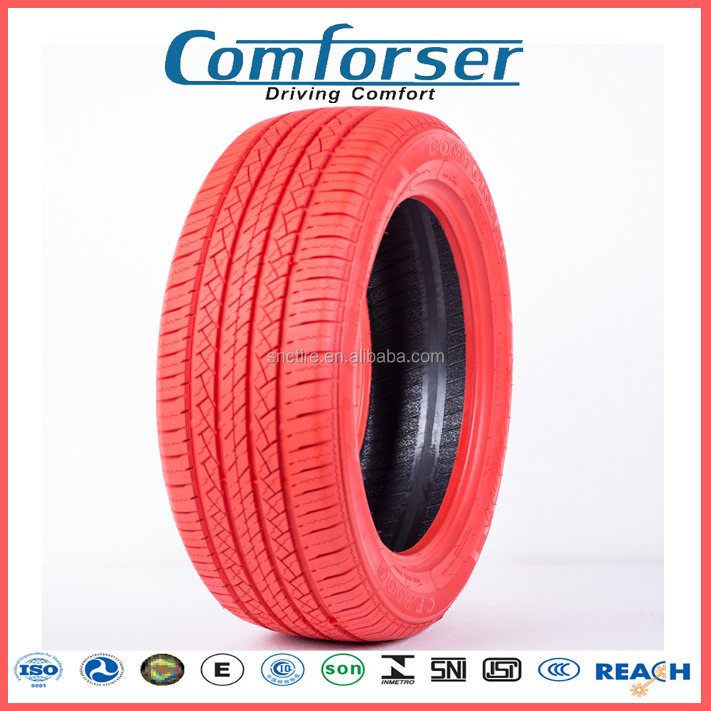 Wholesale Rc Car Tire Manufacturers / Red Not Used Blue 195/55r14 Car Tires Korea 205 60 16 Color Car Tyre