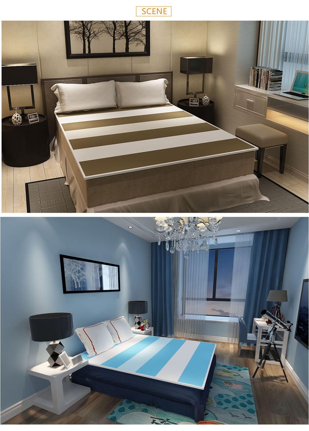 Seperately support ability 3d mesh fabric wellcool mattress topper,mattress pads,cool mattress topper