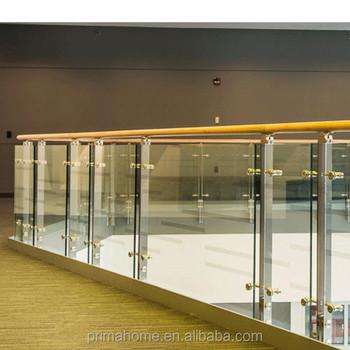 Factory Price Outdoor Balcony Railing Stainless Steel Frameless Glass  Terrace Balustrade