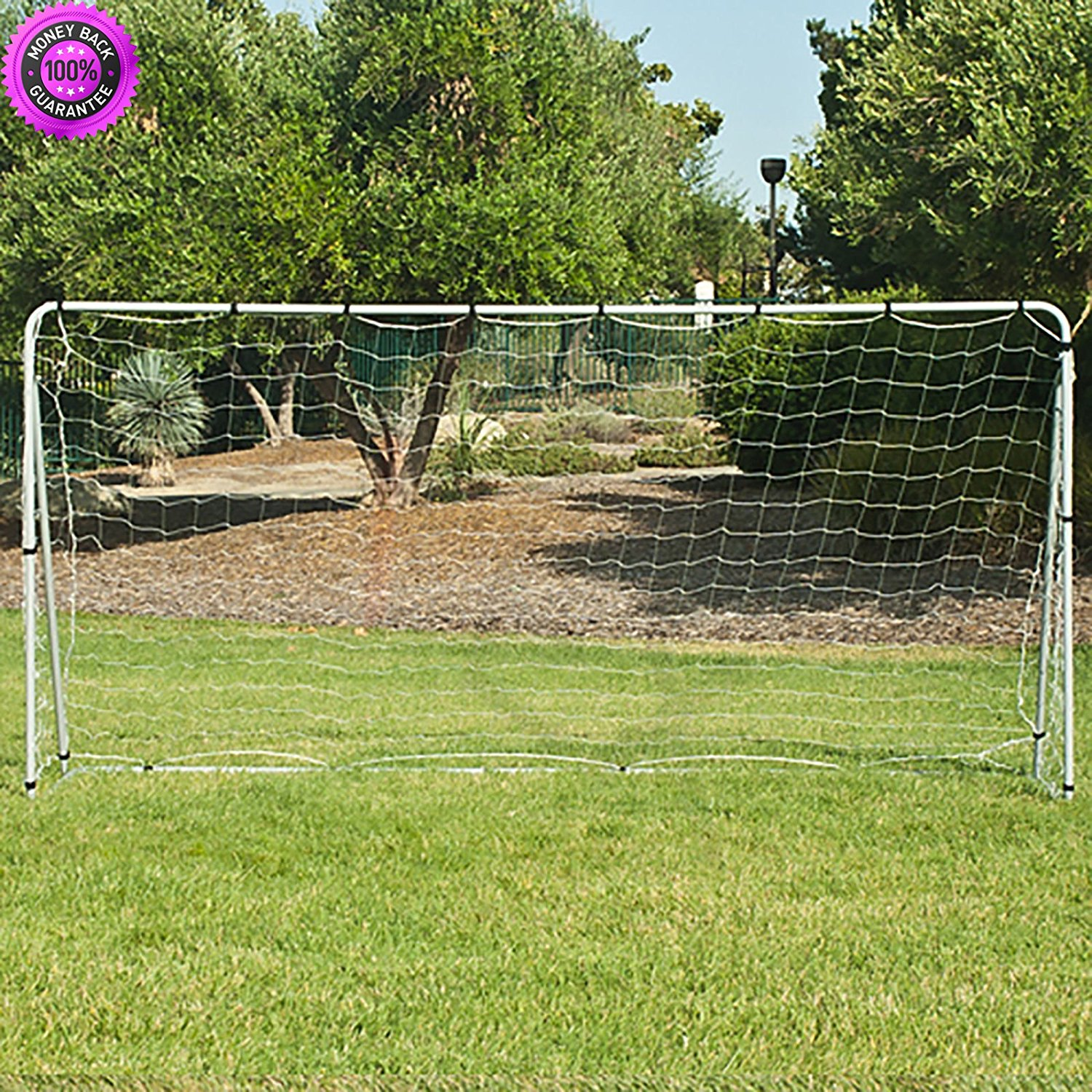 9f2a0adf1 Get Quotations · DzVeX 12' x 6' Soccer Goal With Net, Straps, Anchor Large  Soccer