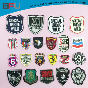 Football Soccer patches Individuality Hat patches sports patches Embroidered  Iron-On Patches sew on patches