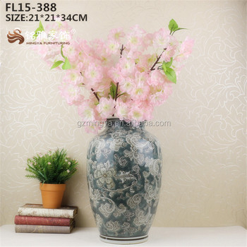 Chinese Ink Painting High Quality Ceramic Porcelain Decoration