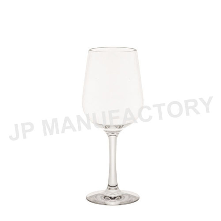 High quality unbreakable stemmed wine <strong>glass</strong>