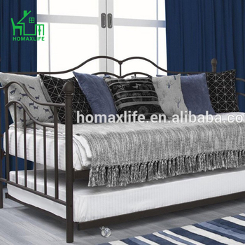 Bedroom Furniture Modern Wrought Metal Folding Sofa Bed ,unique Design  Modern Sectional Sofa