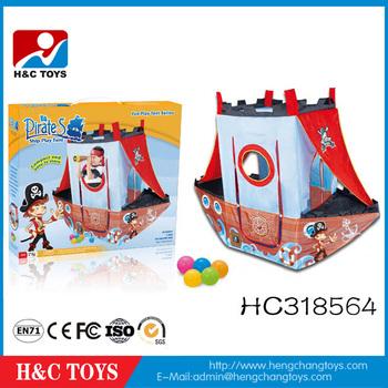 Pirate Ship Shape Jouer Tente Enfant Enfants Intérieur Jouer ...