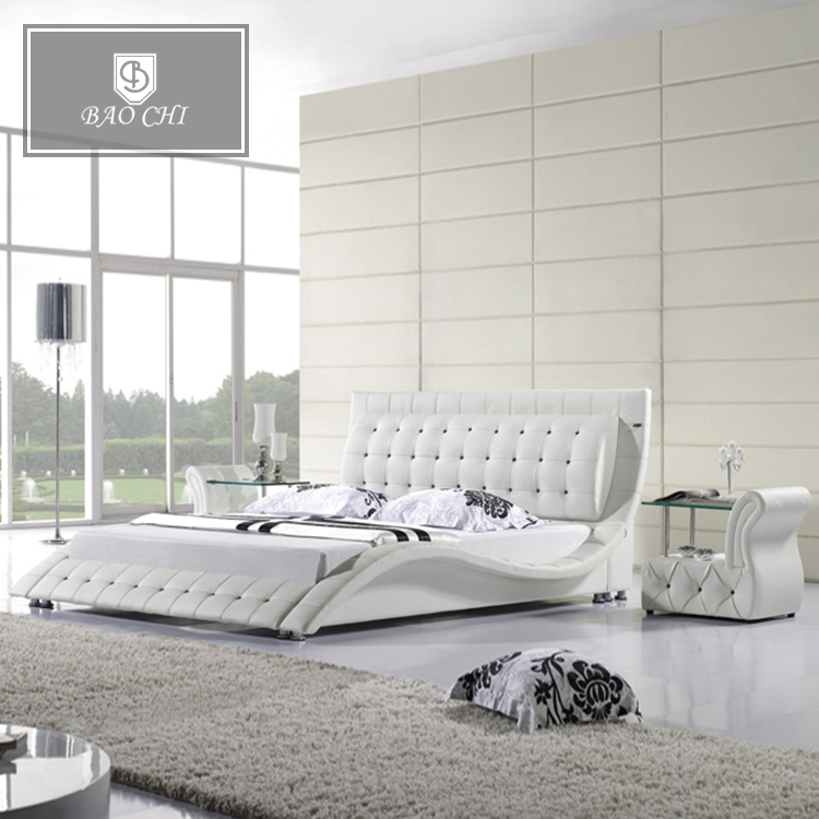 Double bedroom set modern luxury new design beds