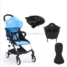Foldable Mother And Son bicycle Three Wheels Luxury Baby Stroller 3 In 1