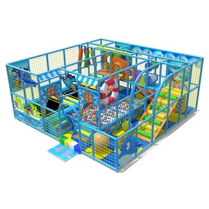 Colorful Playground Equipment Children Indoor Soft Play Areas For Games