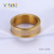 OEM stainless steel jewelry manufacturer men's CZ inlaid rose gold 316L stainless steel ring