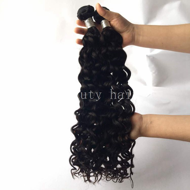 Wholesale supplier exceptional lowest cost portable aaaaaaa raw unprocessed brazilian water wave hair