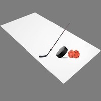 HDPE puck board / hockey shooting pad / slide board