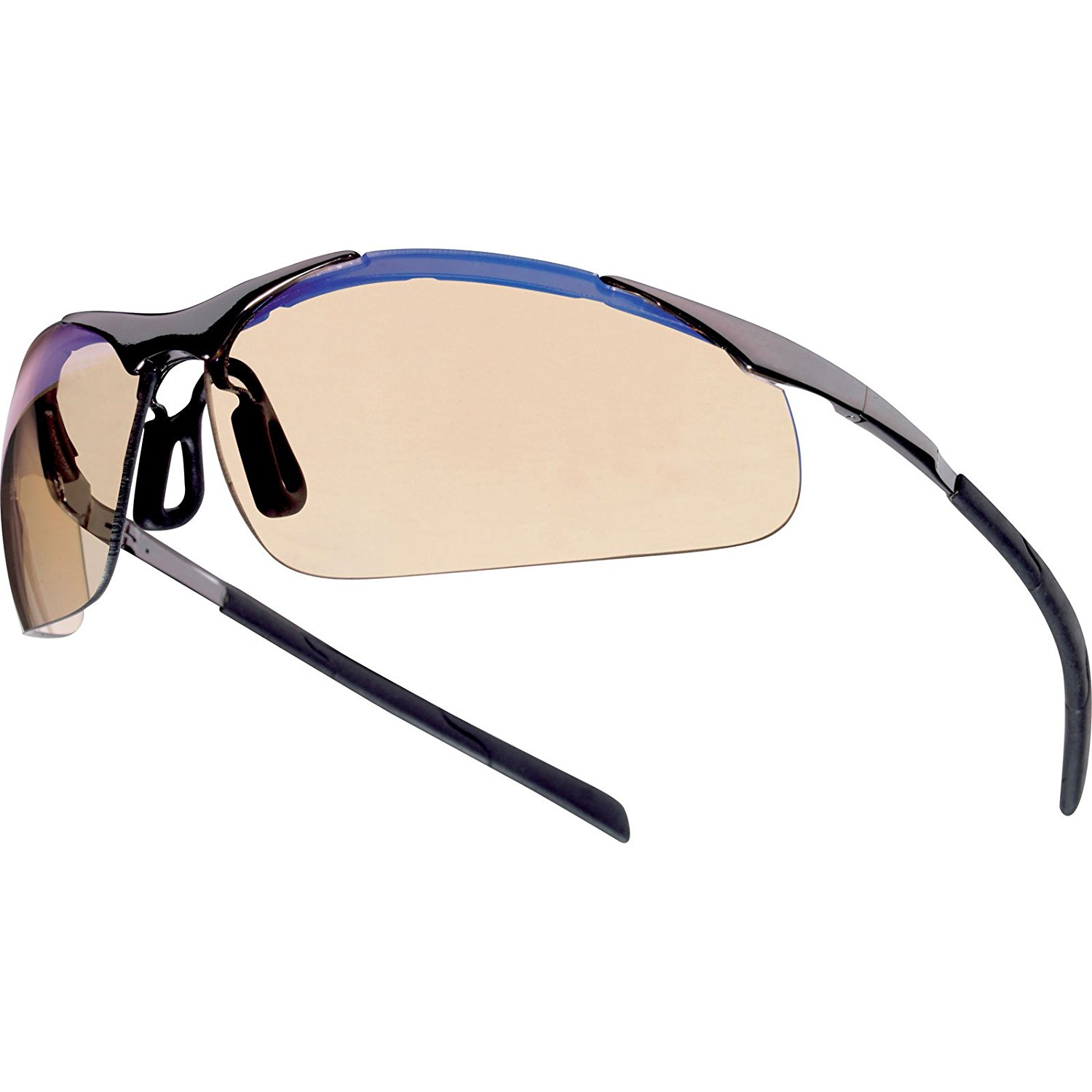 47aa5b650b Get Quotations · Bolle - Bolle - Bolle Safety Glasses Contour Esp - Metal  Frame