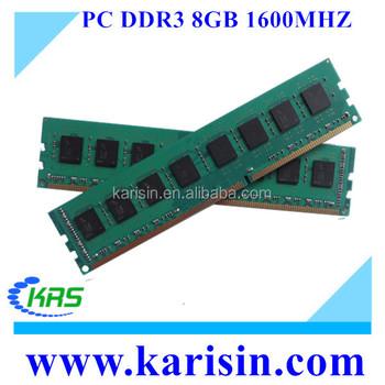 Fast Delivery Unbuffered 1600mhz 3200mhz Ram Memory Ddr3 8gb With Ett  Original Chips - Buy Memory Ddr3 8gb,3200mhz Ddr3 Ram,1600mhz 8gb Ddr8 Ram