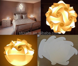 IQ Jigsaw Puzzle Infinity Lamp Shade 30 Piece Kit Jigsaw Puzzle Lamp