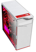hot selling cheapest fancy transparent side panel high quality computer case