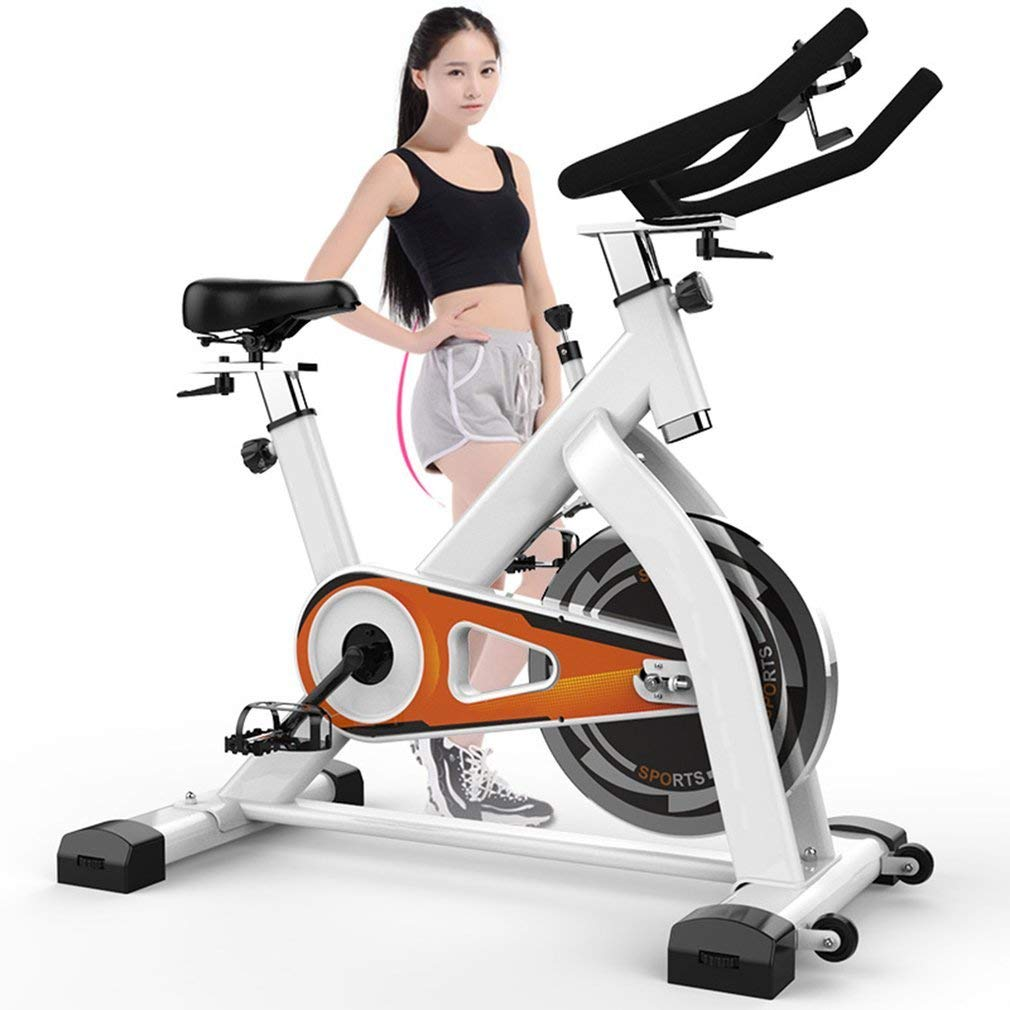 f05d30ea11b Get Quotations · OUTAD Belt Driven Indoor Cycling Bike with 29lbs Flywheel