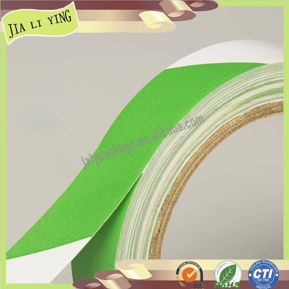 Single Sided Adhesive Side and Rubber Adhesive pvc floor marking tape