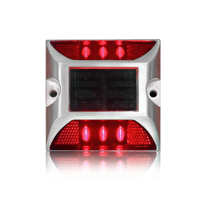 Back To Search Resultssecurity & Protection Waterproof Red Led Flashing Light Solar Power Cat Eye Road Stud Reflector Road Stud