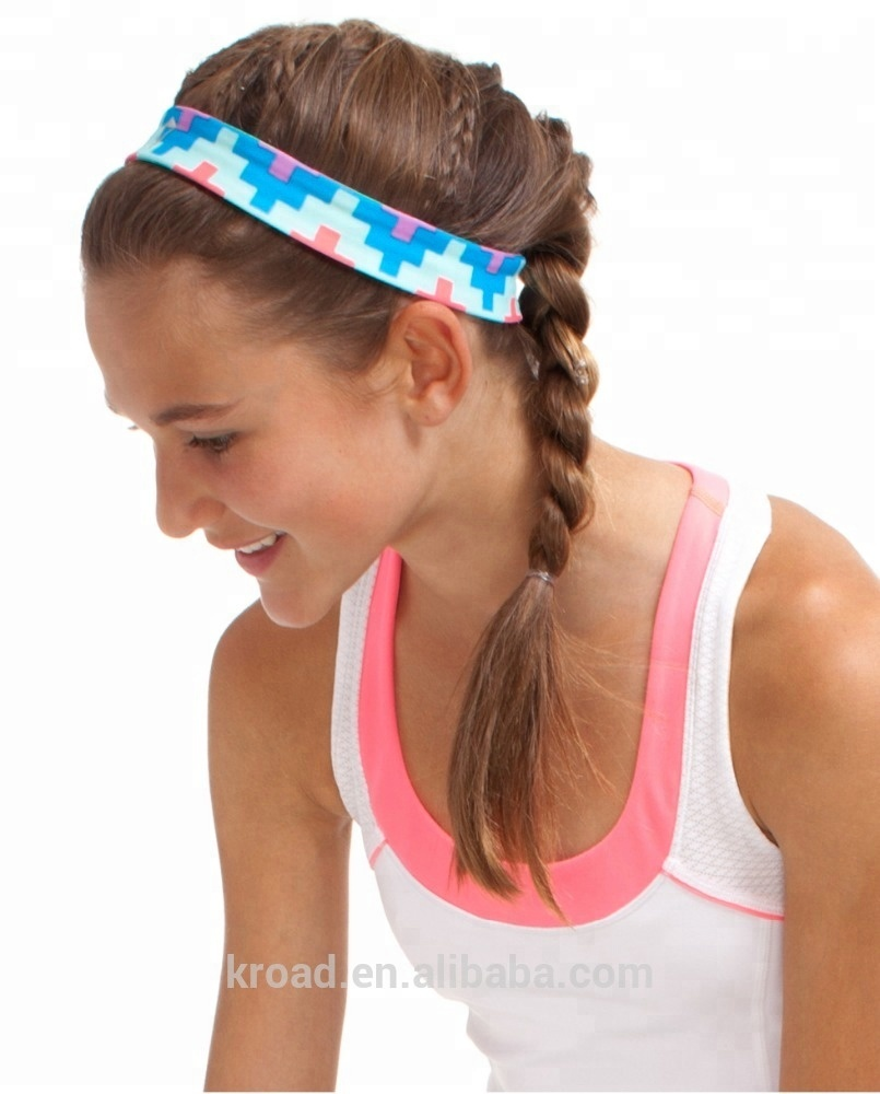 Elastic Wide Yoga Headbands for Men and Women Athletic Moisture Wicking  Headwear for Sports 0a41501baa6