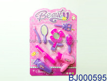 New hot toy 2015 preschool kids beauty salon play set mirror and comb toy