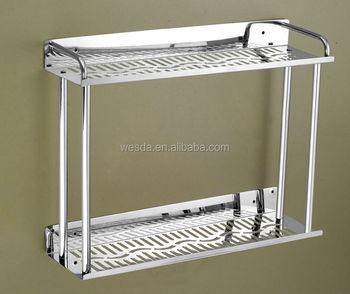 Wesda Stainless Steel Bathroom Corner Shelf 823 400mm 600mm
