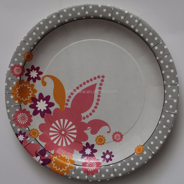Newest Hot Custom Paper Plate Buyer and Flower Design Paper Plates & China Flower Paper Plates Wholesale ?? - Alibaba