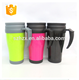 High Quality Camping plastic double wall mug