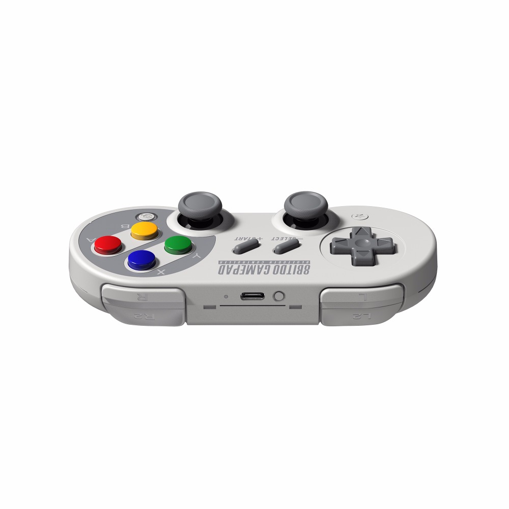 8Bitdo SF30 Pro for iOS and Android Gamepad Wireless Game <strong>Controller</strong>