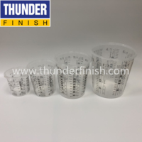 400cc/700cc/1300cc/2300cc Paint Mixing Cups with lids