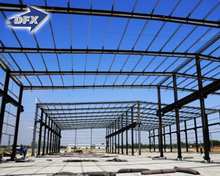 Metal Building Construction Projects Industrial Workshop Shed Designs Fabrication of Steel Structures