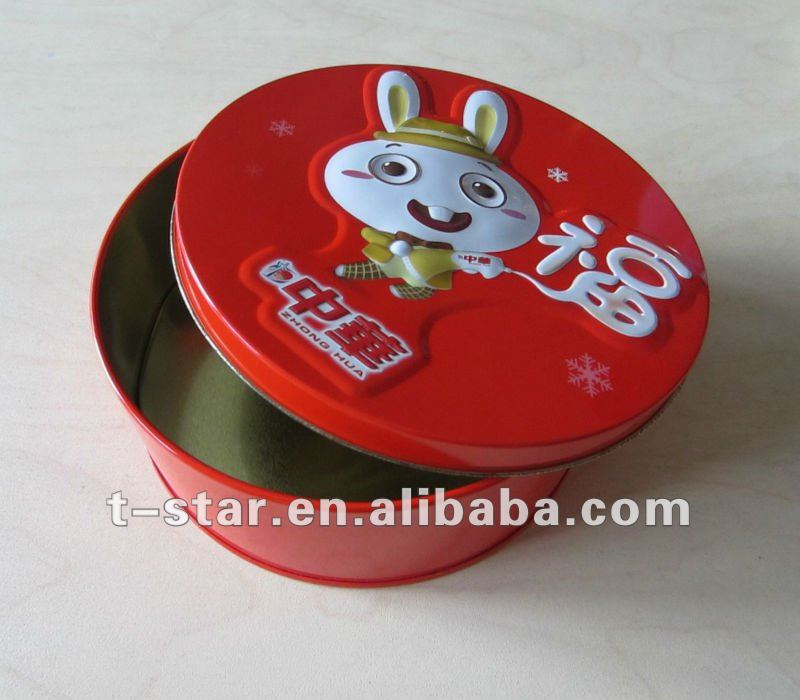 Red Rabbit Gift Embossing Tins