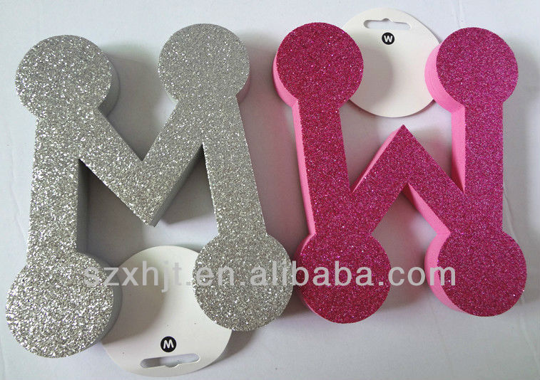 glitter large foam letters glitter large foam letters suppliers and manufacturers at alibabacom