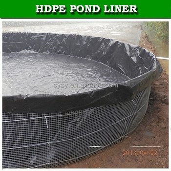 Agriculture outside waterproofing pond liner fish plastic for Blue koi pond liner