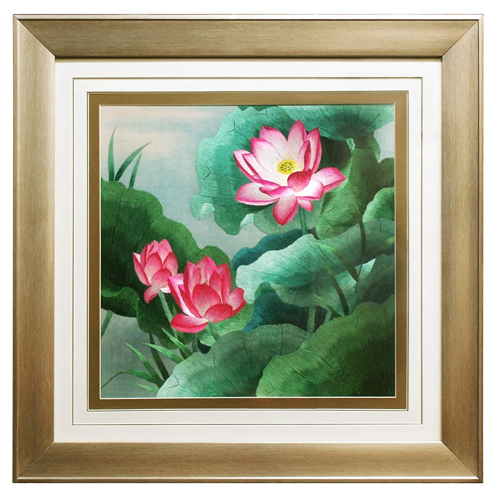 Cheap Lotus Flower Embroidery Find Lotus Flower Embroidery Deals On
