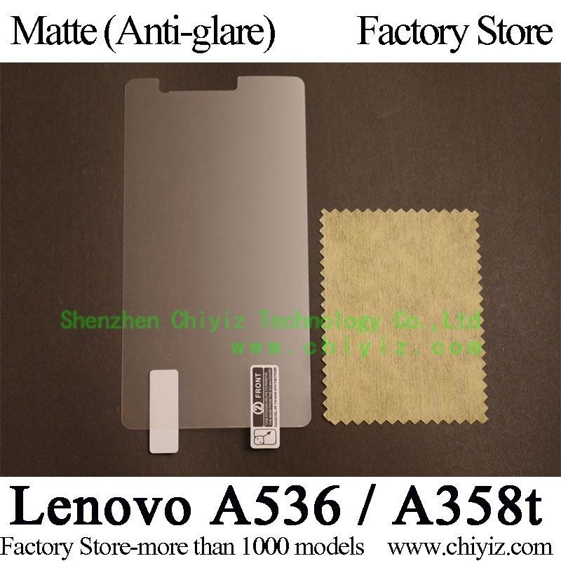 Matte Anti glare Frosted LCD Screen Protector Guard Cover Protective Film Shield For Lenovo A536 phone