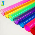 Colorful Plastic Tube/Pipe Out Diameter 5-50mm Thickness 2mm Polycarbonate Tube
