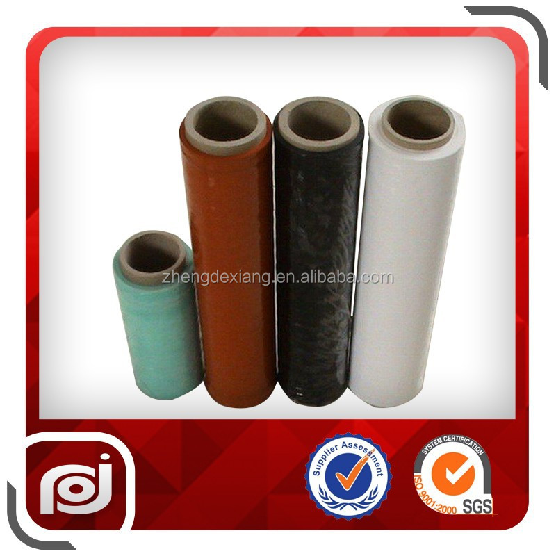 Hot Sale Colored Pe Plastic Fresh Purple Cling Film