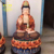 High Quality Painting Fiberglass Standing Buddha Statues For Buddhism Decoration