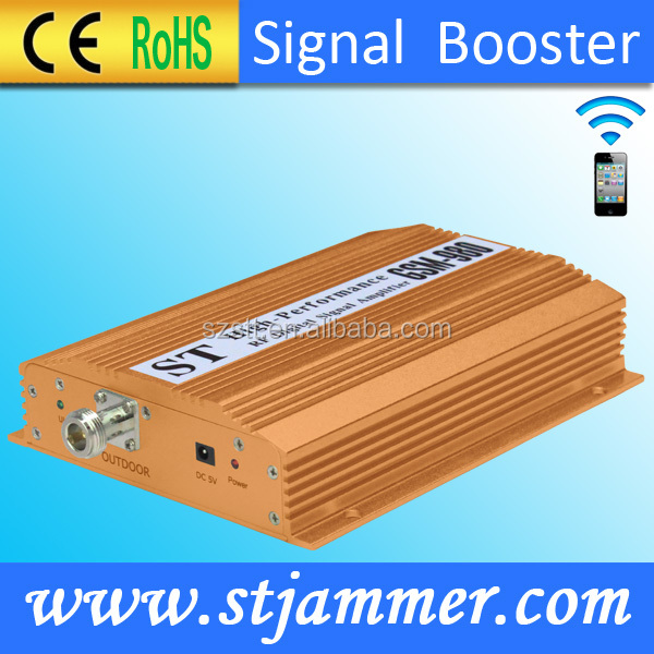 Home gsm signal booster,vhf uhf signal booster for GSM 900mhz frequency signal enhancer