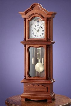 Mini Grandfather Clock Table Top View Desk Clock Product