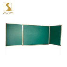 movable shaped Free standing custom magnetic green chalkboard