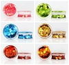 Cheaper Price Wholesale Charming Glitter Ear Plugs Gauges Piercing Acrylic Ear Body Jewelry