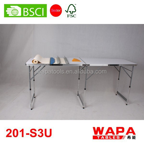 2 Sections (2m) folding wallpaper pasting table calendar