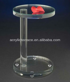 Acrylic Side Table/Clear Acrylic Plant Stand/Acrylic End Table