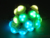 led ball string rgb colorfull effect 12v 0.72w outdoor waterproof pixel string ball light 30mm