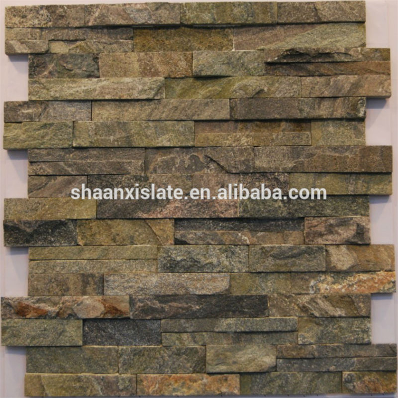 High quality culture stone slate veneer wall decaration
