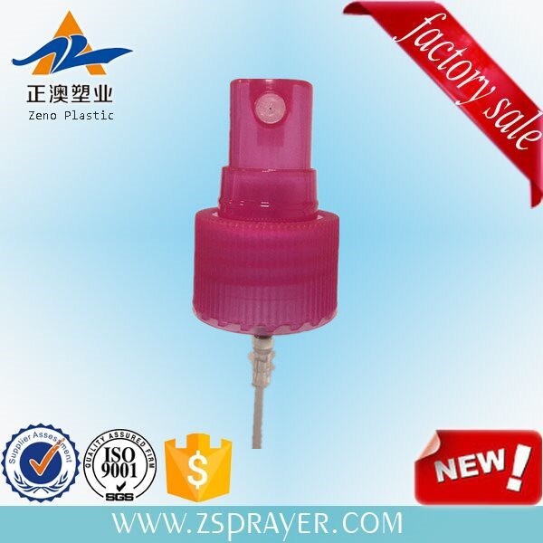 18mm fine mist sprayer with clear cap nasal spray pump