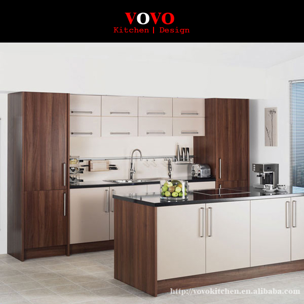 Economical Type MFC Kitchen Melamine Faced Chipboard Kitchen Cabinets, View  MFC kitchen cabinets, Product Details from VOVO Building Material ...