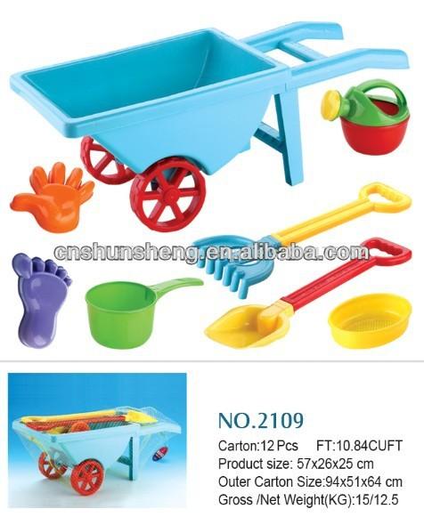 Carro de la playa de arena juguete diy juguetes para la for Arena de playa precio