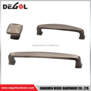 Retro zinc alloy colored furniture handle